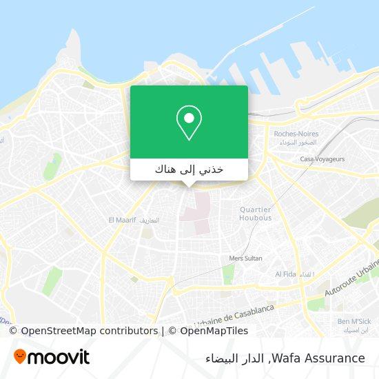 خريطة Wafa Assurance