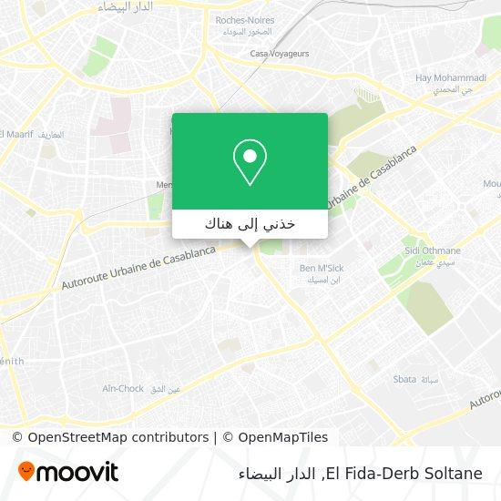 خريطة El Fida-Derb Soltane