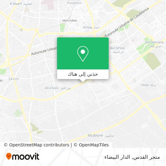 خريطة متجر القدس