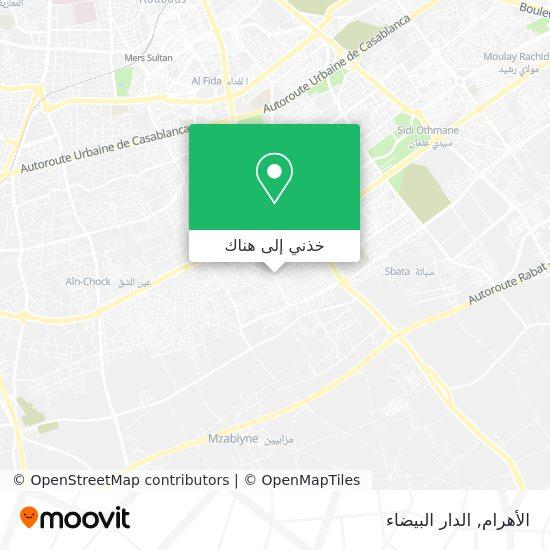خريطة الأهرام