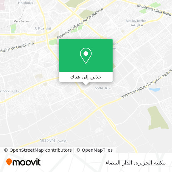 خريطة مكتبة الجزيرة