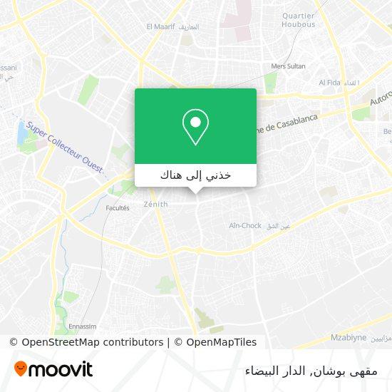 خريطة مقهى بوشان