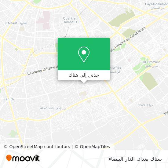 خريطة سناك بغداد