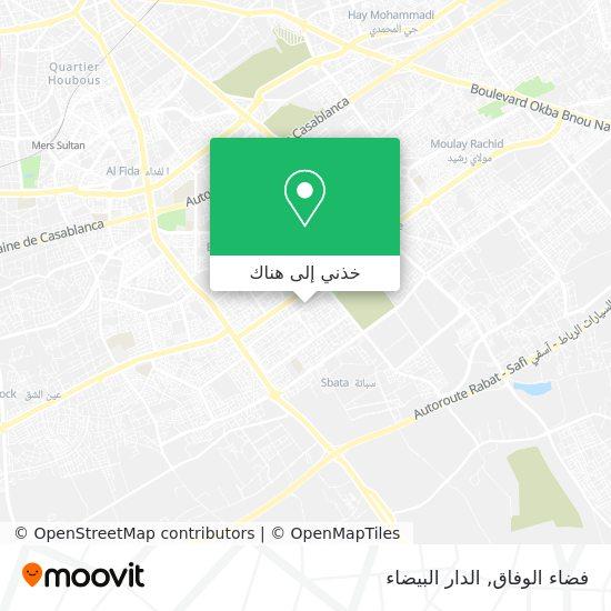 خريطة فضاء الوفاق