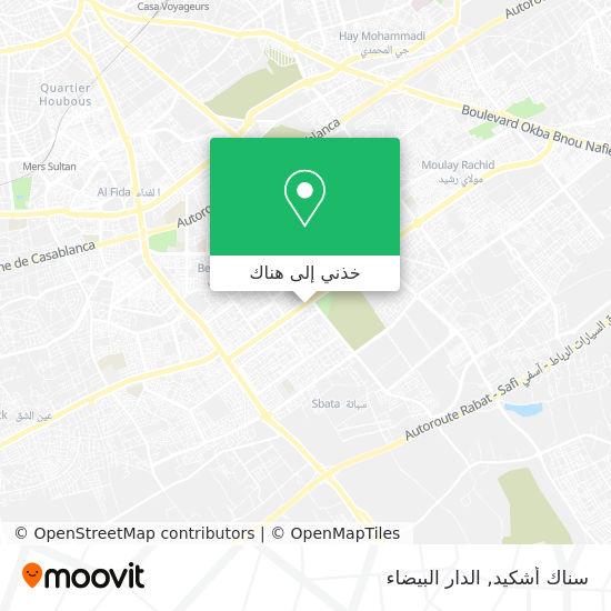 خريطة سناك أشكيد
