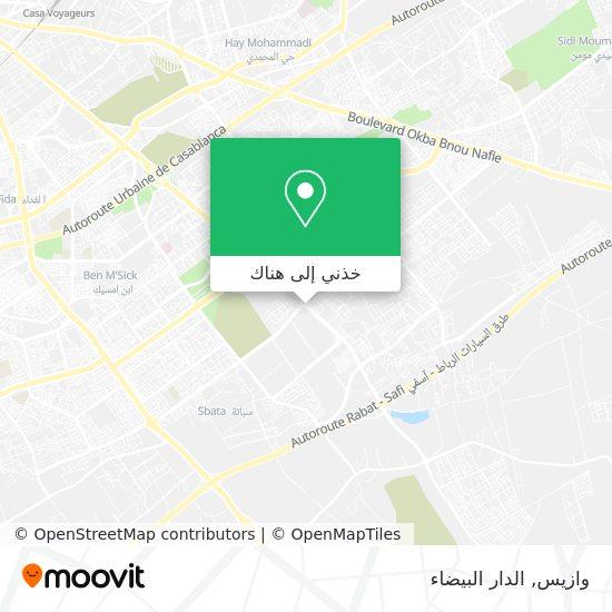 خريطة وازيس