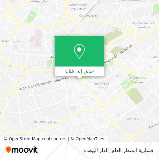 خريطة قسارية المنظر العام