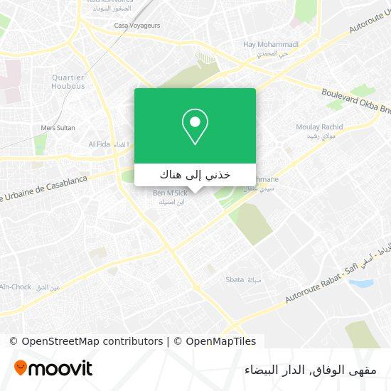 خريطة مقهى الوفاق