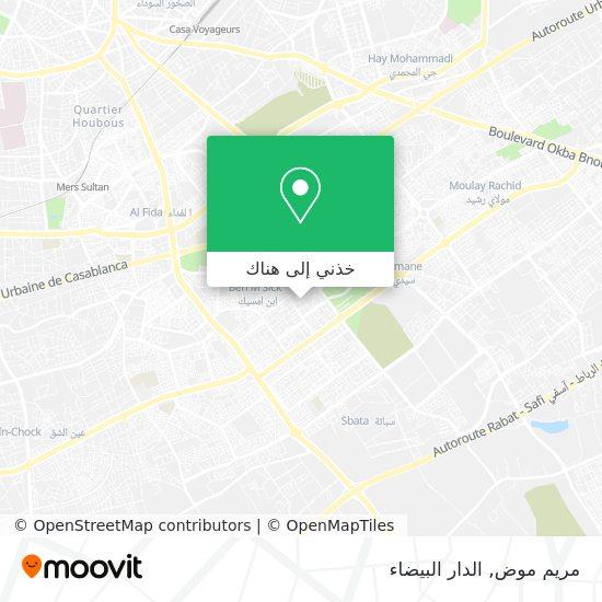 خريطة مريم موض