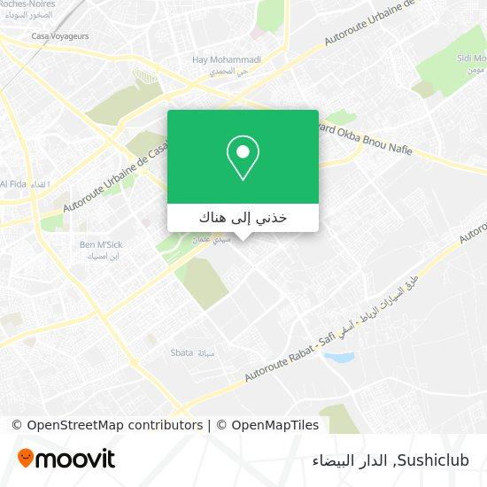 خريطة Sushiclub