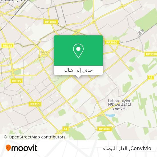 خريطة Convivio