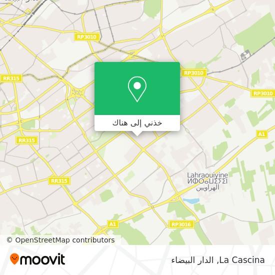 خريطة La Cascina