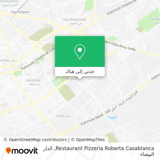 خريطة Restaurant Pizzeria Roberta Casablanca