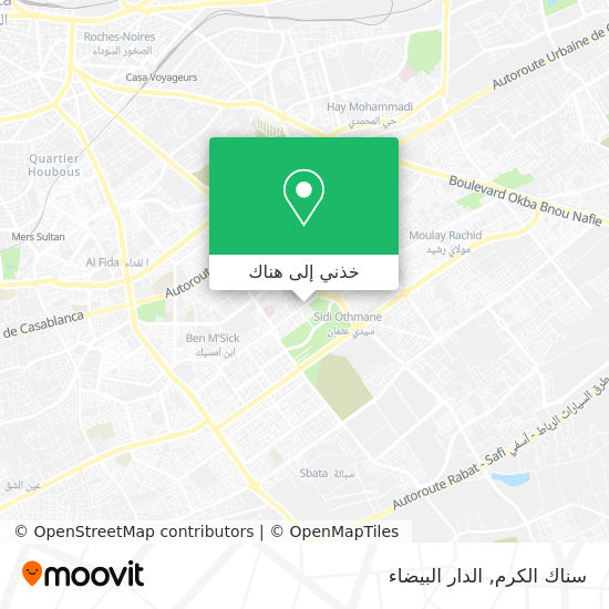 خريطة سناك الكرم