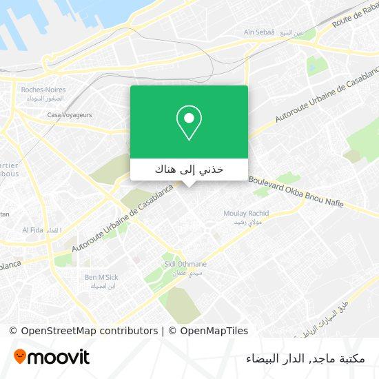 خريطة مكتبة ماجد