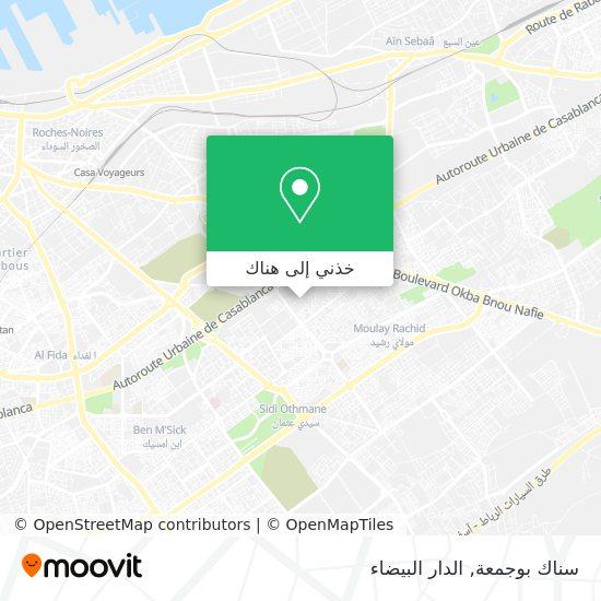 خريطة سناك بوجمعة