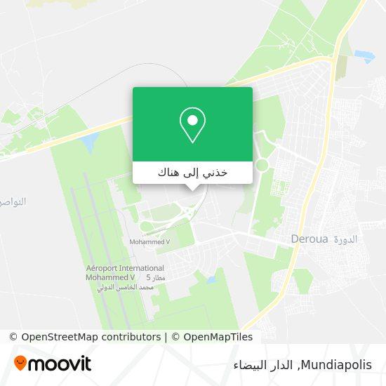 خريطة Mundiapolis