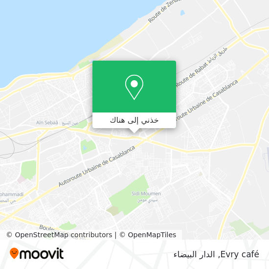 خريطة Evry café