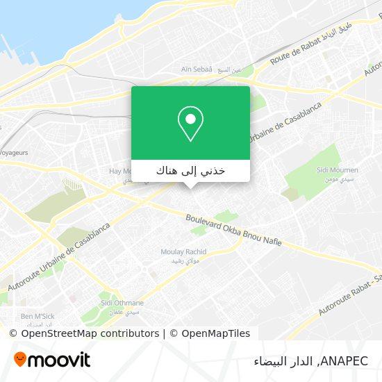 خريطة ANAPEC