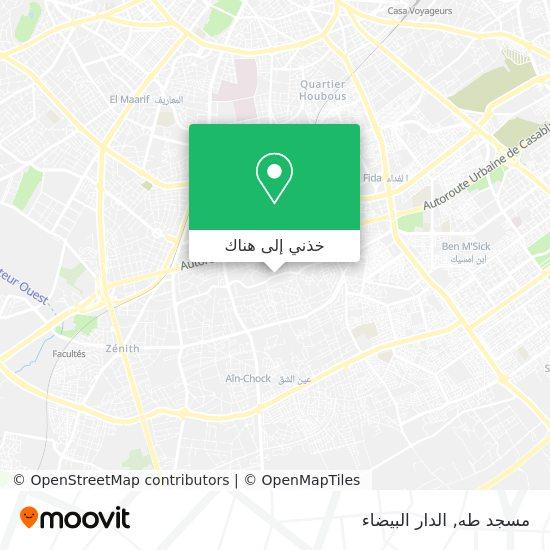 خريطة مسجد طه