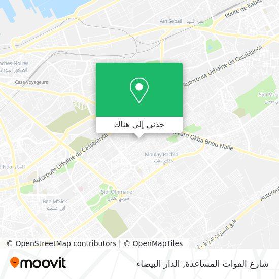 خريطة شارع القوات المساعدة