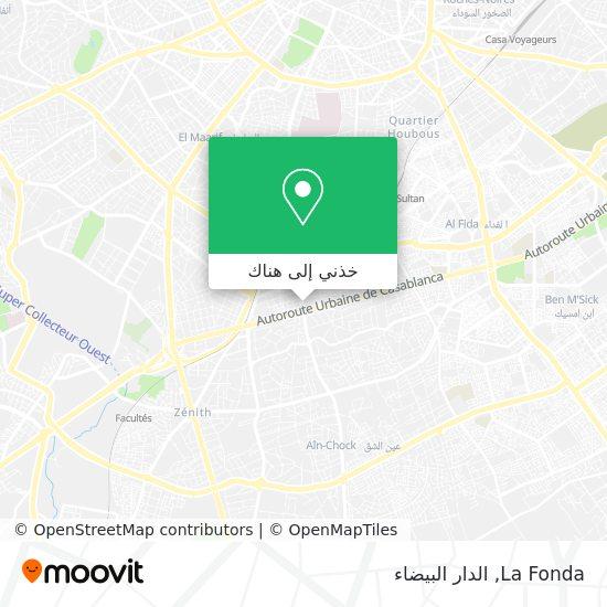 خريطة La Fonda