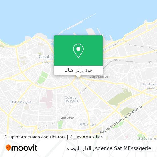 خريطة Agence Sat MEssagerie