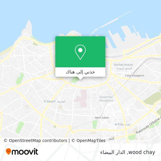 خريطة wood chay