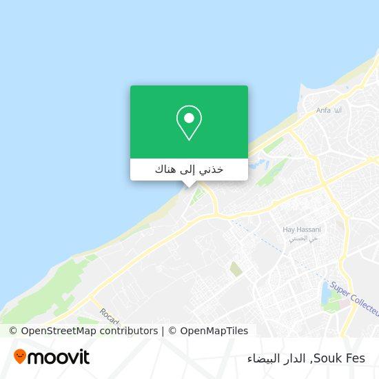 خريطة Souk Fes