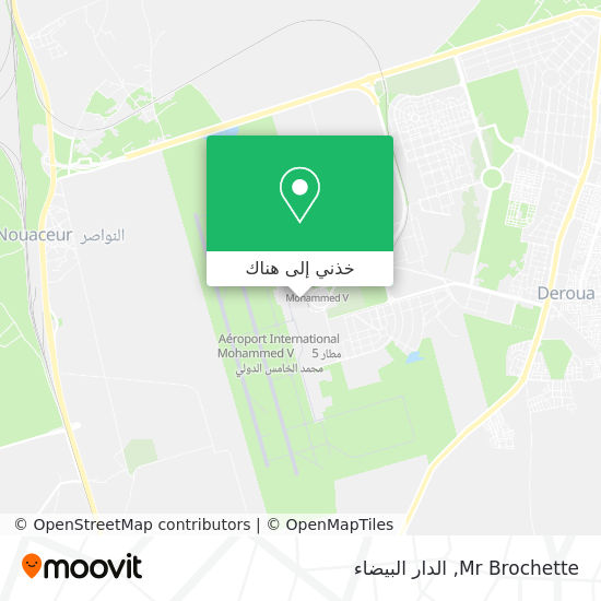 خريطة Mr Brochette