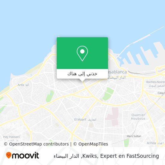 خريطة Kwiks, Expert en FastSourcing