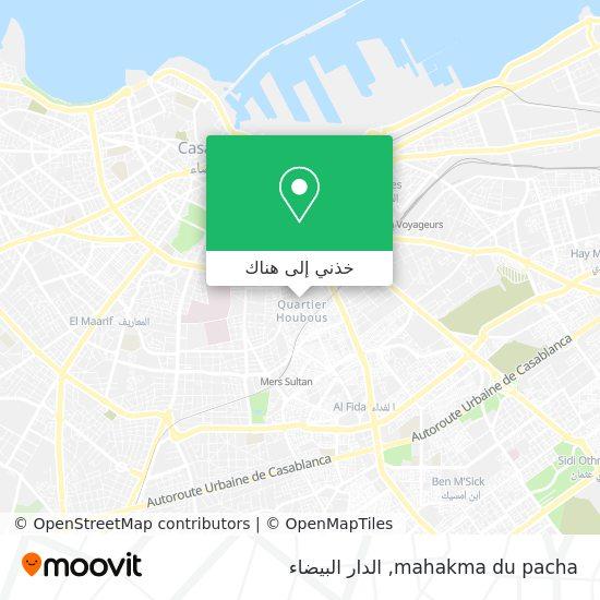 خريطة mahakma du pacha