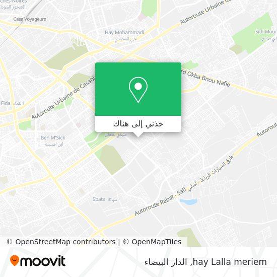 خريطة hay Lalla meriem