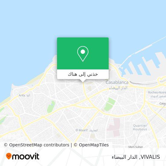 خريطة VIVALIS