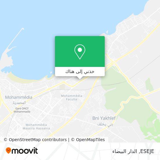 خريطة ESEJE