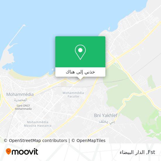 خريطة Fst