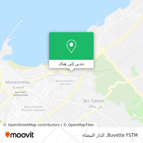 خريطة Buvette FSTM