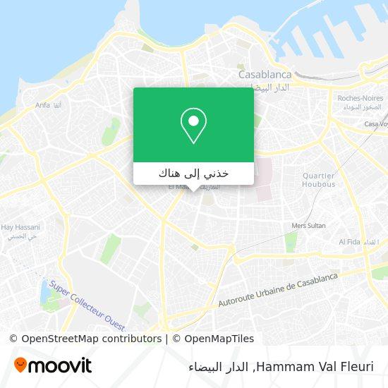 خريطة Hammam Val Fleuri