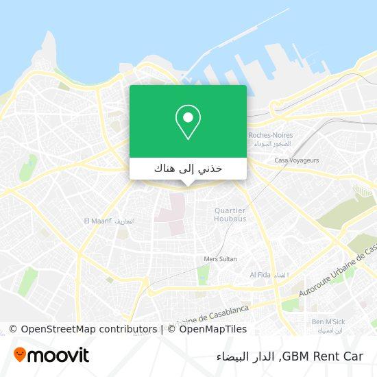 خريطة GBM Rent Car