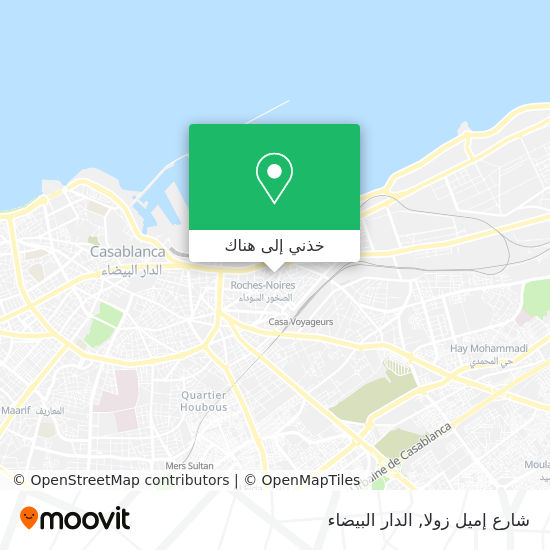 خريطة شارع إميل زولا