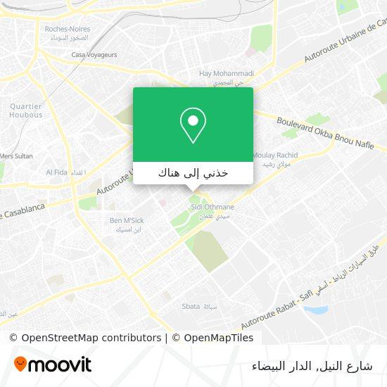 خريطة شارع النيل