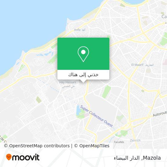خريطة Mazola