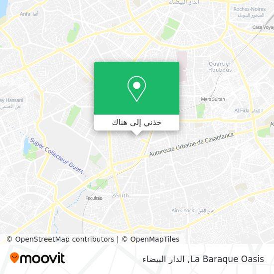 خريطة La Baraque Oasis