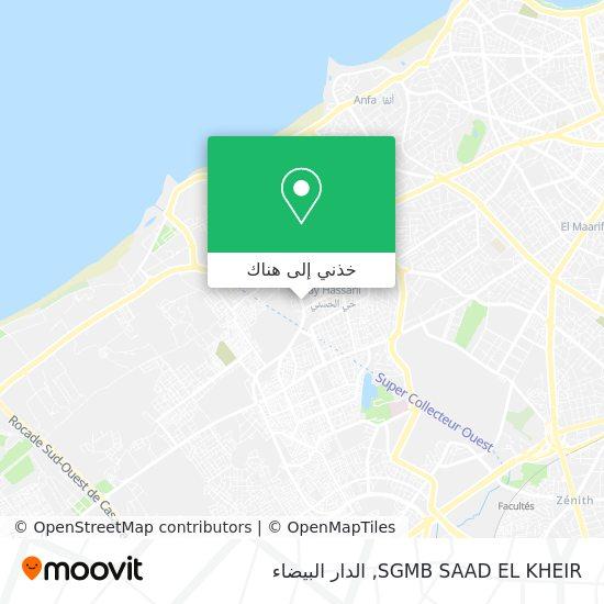 خريطة SGMB SAAD EL KHEIR