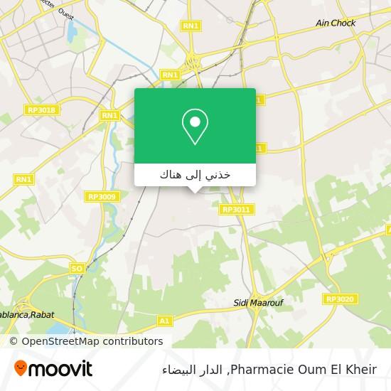 خريطة Pharmacie Oum El Kheir