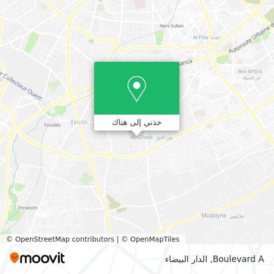 خريطة Boulevard A