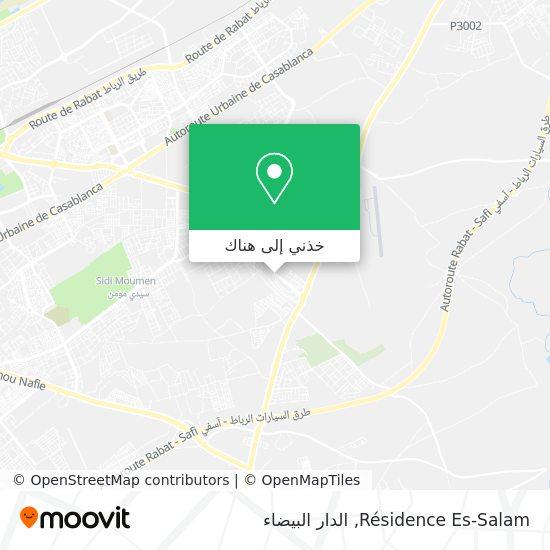 خريطة Résidence Es-Salam
