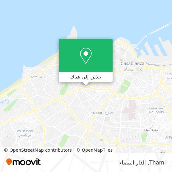 خريطة Thami