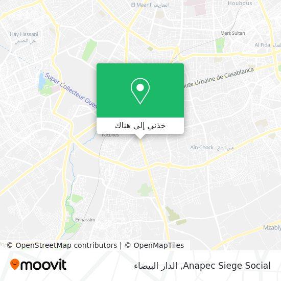 خريطة Anapec Siege Social