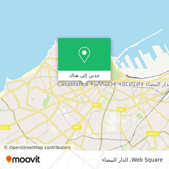 خريطة Web Square